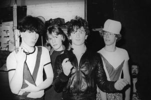 Early photographs of U2 1978-81 by photographer Patrick Brocklebank at the Little Museum St Stephen's Green Dublin